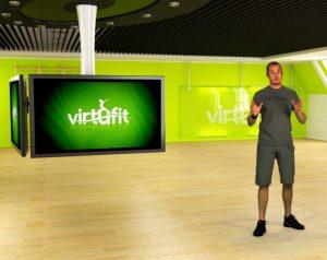Virtufit screen conditietest