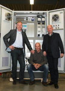 (links) Eg Waaijman (midden) Jos ter Hedde (rechts) Klaas ter Riet