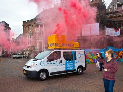 Creatieve Bedrijven Route actie foto door Karen Steenwinkel