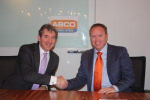 (l) Robert de Boeck van Antea en (r) Robert Jansen van ABCO