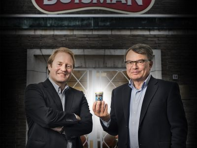 v.l.n.r. Robert Hoopman en Joep van Wessem.