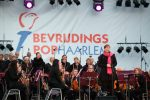 Voorzitter Sascha Baggerman tijdens Herdenkingsconcert. Foto: Ewoud Koster.