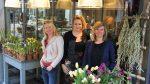 vlnr Vivian Puype, Sarah Dikker, en Joyce Langenacker (foto Pressrecord)...