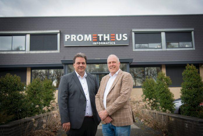Links Leon van Kempen en rechts Jan Nijland (Prometheus).