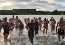 Openwaterclinic in t Wed Bloemendaal.