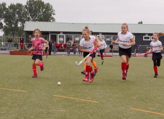 Persfoto wedstrijd Hockeyclub Spaarndam