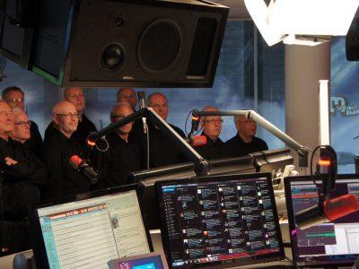 Gitaarlem in 3FM Studio bij Giel