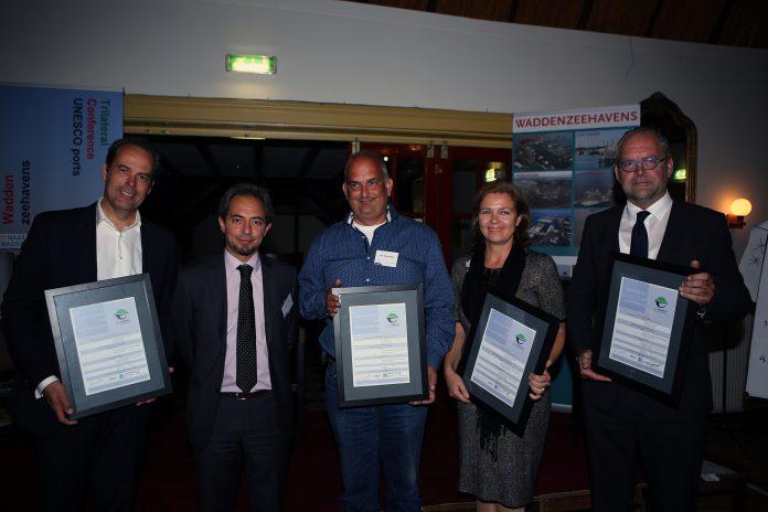 VLNR R. Genee (Groningen), A. Michail (ESPO), D. Klinkenberg ( Harlingen), J. Bolderheij ( Den Helder), T. Meskers (Den Oever)
