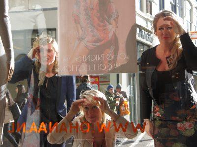 (3) vlnr Joyce Langenacker, Vivian Puype, en Sarah Dikker (foto Pressrecord)
