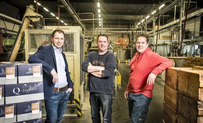 Vlnr: Stephan Snijders, Roan van Uden en Maurice van Uden.