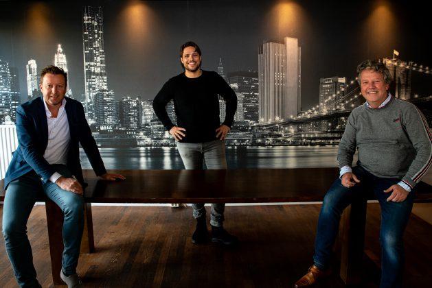 Lokale Planner. vlnr: Thomas Brouwers, Jacob Poortinga, Frank-Paul ter Berg.